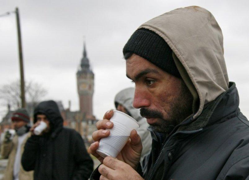 Calais uoste sulaikoma daug nelegalių imigrantų. Nemažai jų – iš Afganistano.