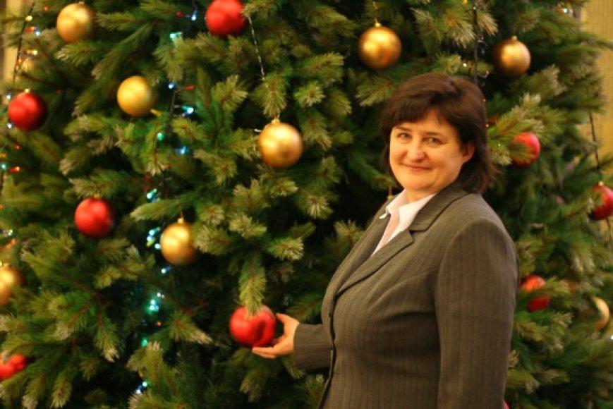 Loreta Graužinienė norėtų 2009–aisiais daugiau laiko skirti sau