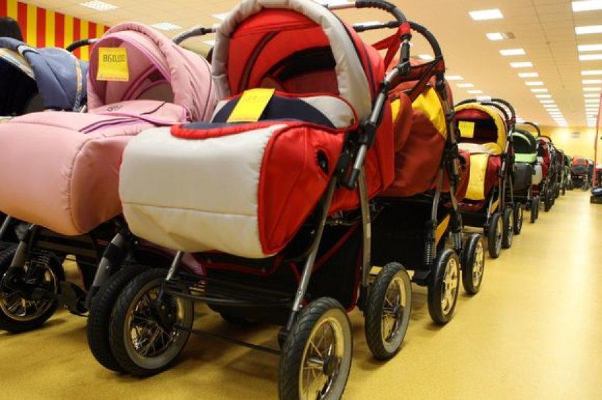 Vaikų vežimėliai