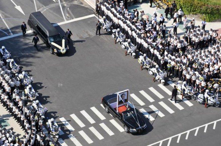 Pietų Korėja atsisveikina su Kim Dae-Jungu