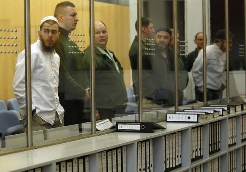 Islamistų kovotojai teisme
