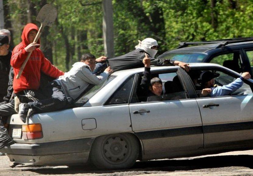 Nauji neramumai Biškeke