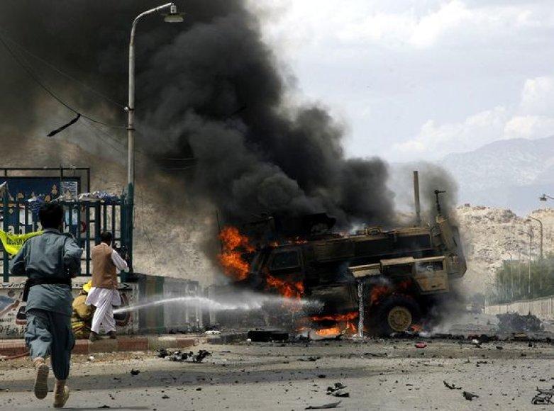 Išpuolis Afganistane