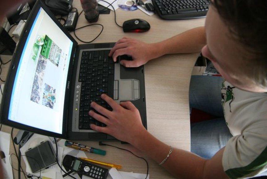 Darbas su kompiuteriu