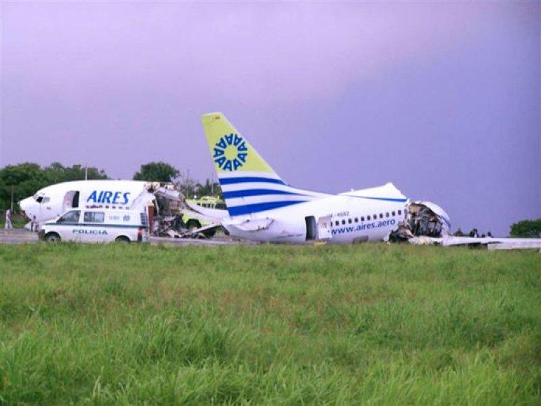 Sudužęs lėktuvas
