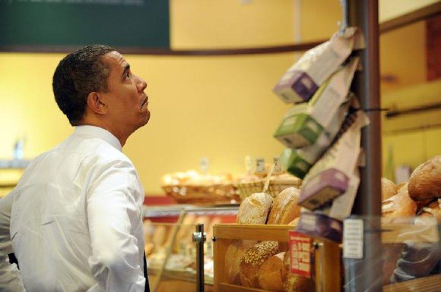 B.Obama užkandinėje