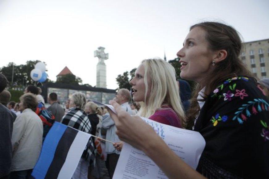 Dainų šventė Estijoje
