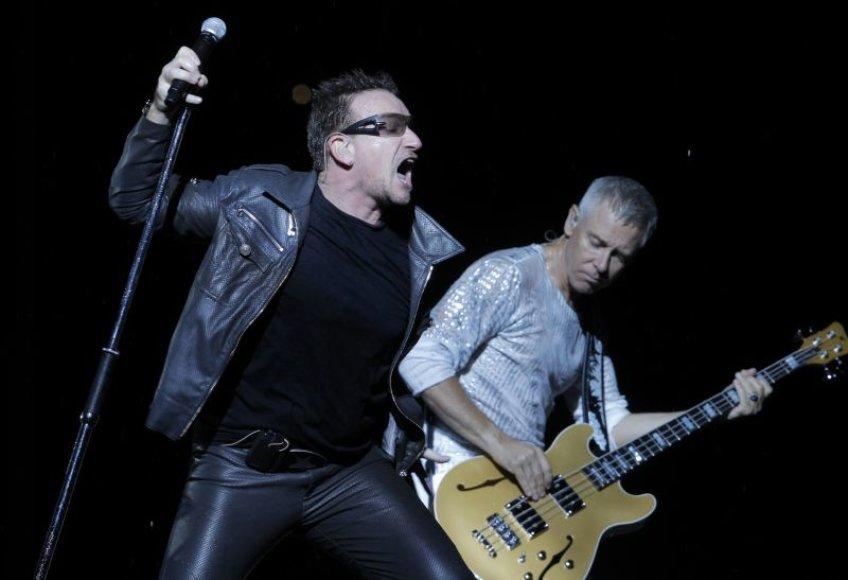 U2 koncertas Maskvoje