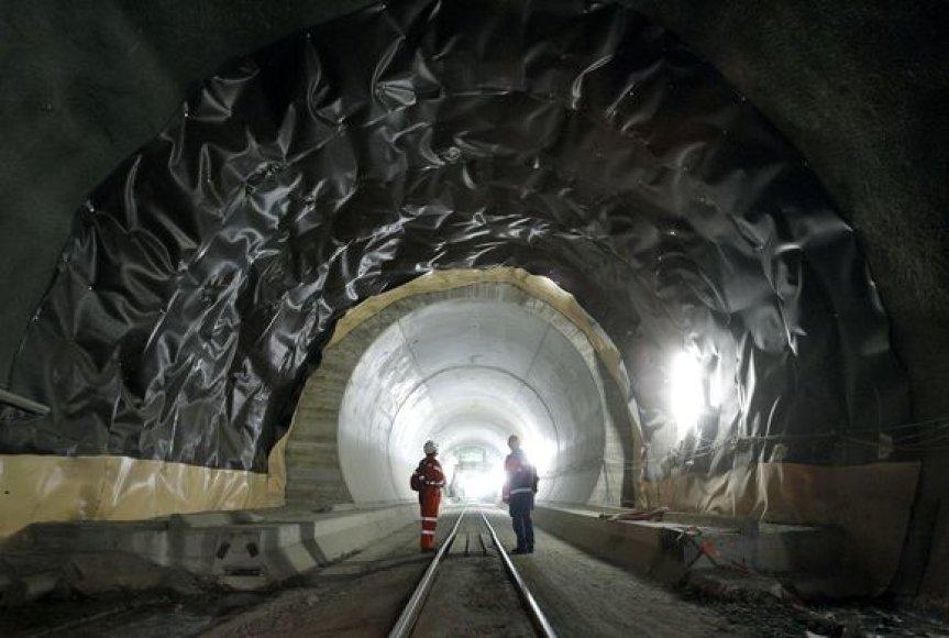 Gotardo tunelis