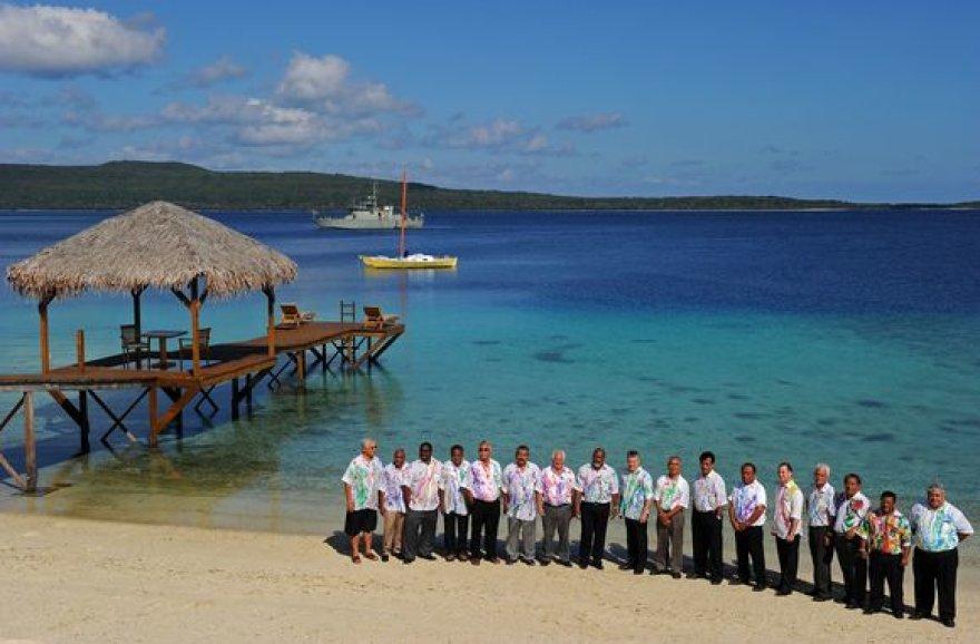 Susitikimas Kiribačio Respublikoje