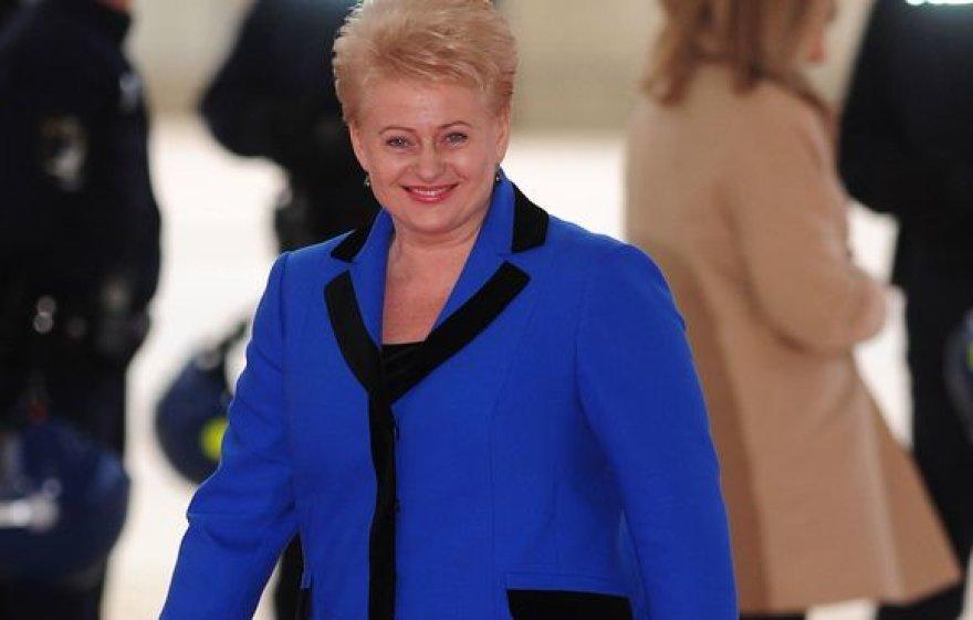 D.Grybauskaitė NATO susitikime