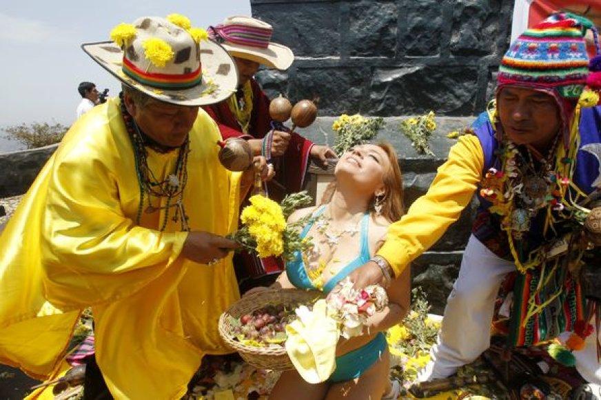 Peru šamanai