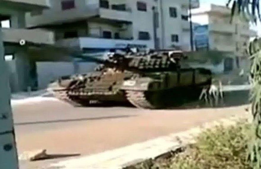 Tankas Derijos mieste