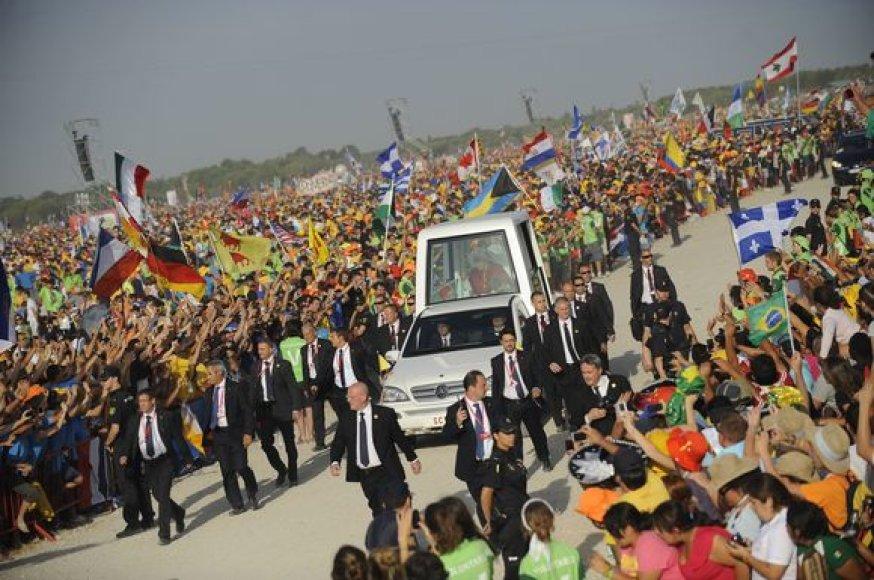 Popiežiaus vizitas Madride