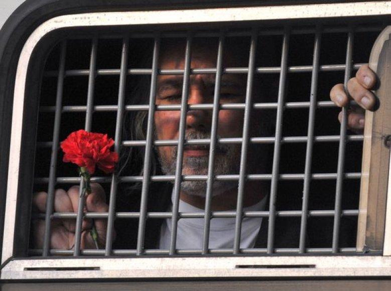 Sulaikyti opozicijos atstovai Maskvoje