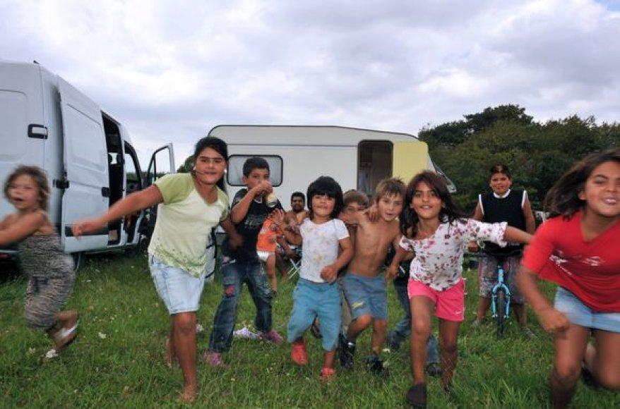 Romų vaikai