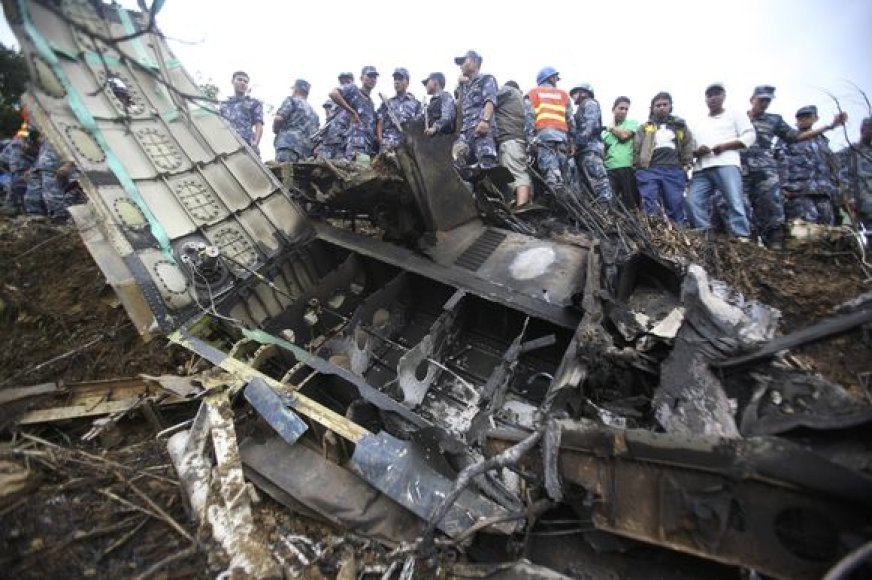 Lėktuvo katastrofa Nepale