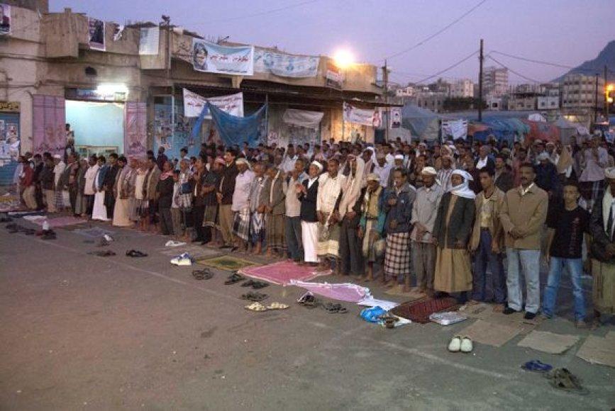 Protestas Jemene