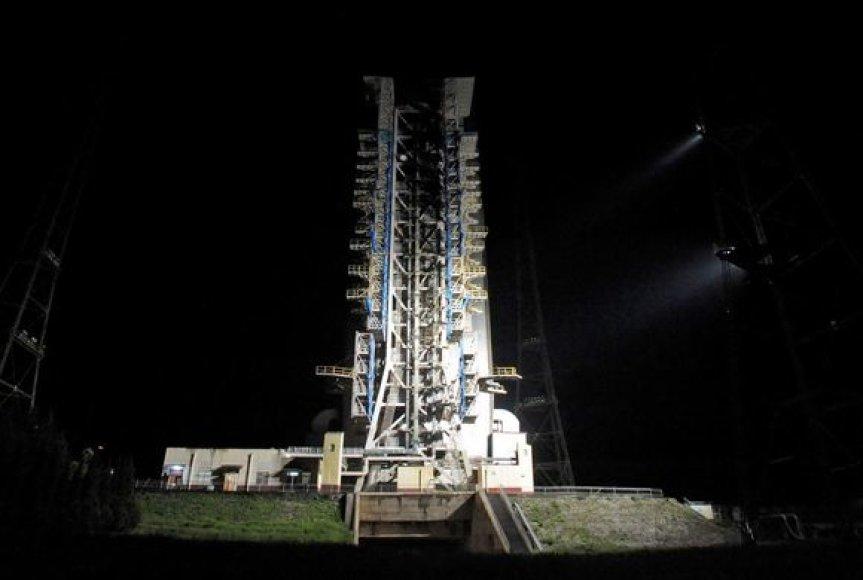 Pasiruošimas raketos startui