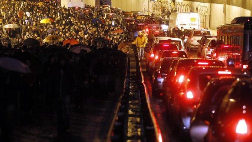 Studentų protestai Italijoje