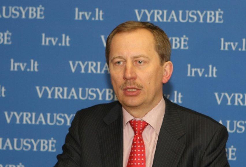 Laikinasis Vyriausybės kancleris Deividas Matulionis