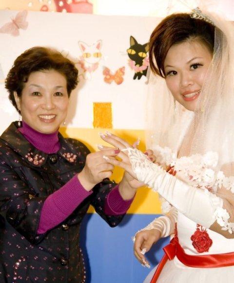 Chen Wei-yih su savo motina