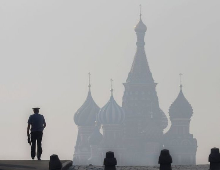 Smogas Maskvoje