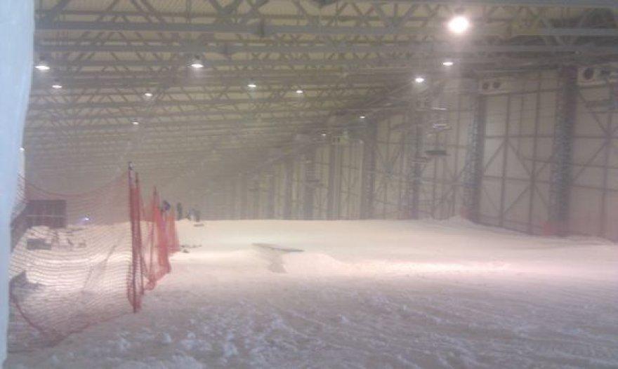Sniego arenoje
