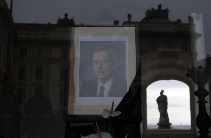 Vaclavo Havelo laidotuvės