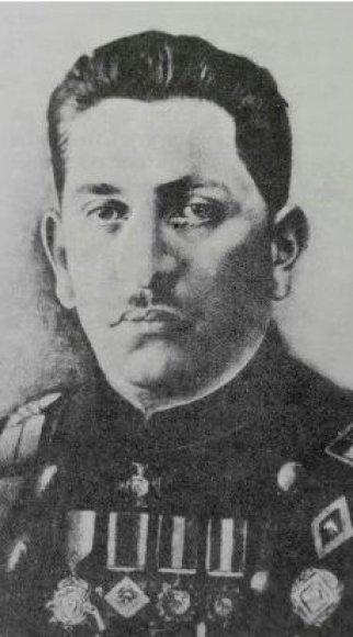 Iš sūnaus Josifo asmeninio albumo/LŽKDLNAS įkūrėjas Izaokas Šapira.