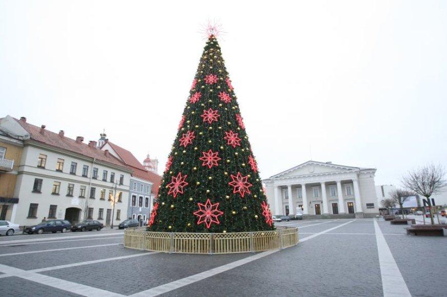 Vilniaus Rotušės aikštės eglutė