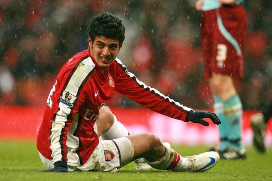 """Londono """"Arsenal"""" komandos būgštavimai nepasitvirtino – C.Vela yra visiškai sveikas."""
