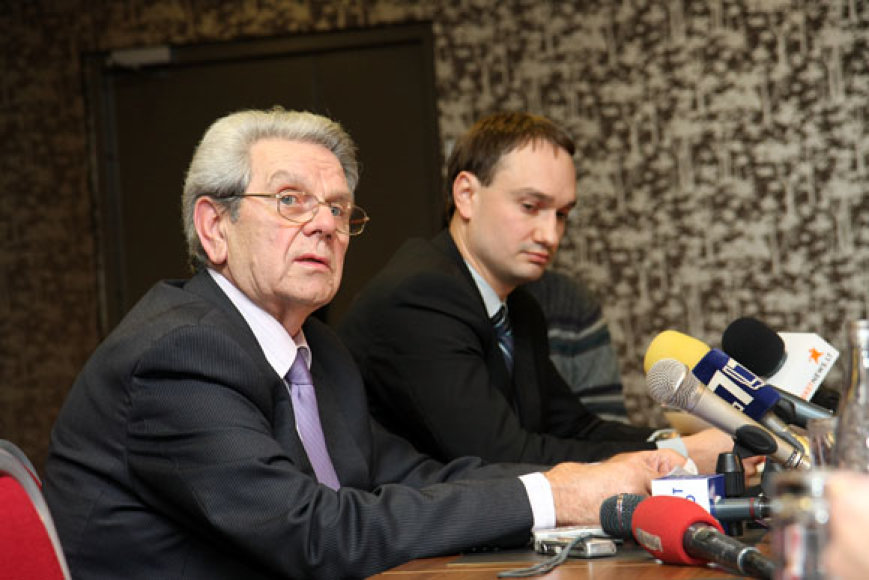 V.Garastas ir M. Balčiūnas