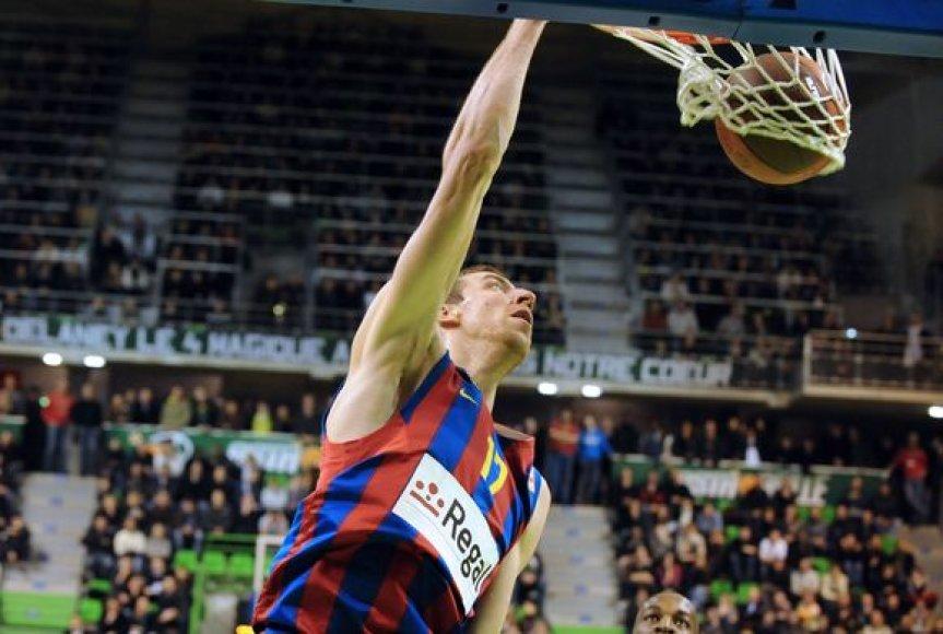"""""""Barcelona"""" krepšininkams ši nesėkmė buvo vos antroji šiame sezone"""