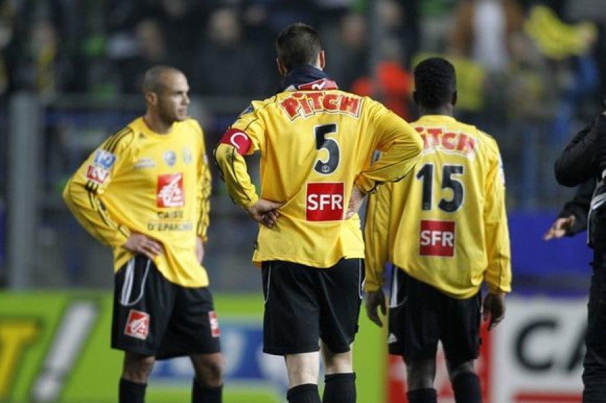 """Mėgėjų lygoje rungtyniaujantiems """"Quevilly"""" futbolo klubo žaidėjams nepavyko patekti į Prancūzijos taurės finalą"""