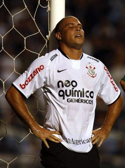 Ronaldo svajonė dar kartą užsivilkti Brazilijos rinktinės marškinėlius neišsipildė