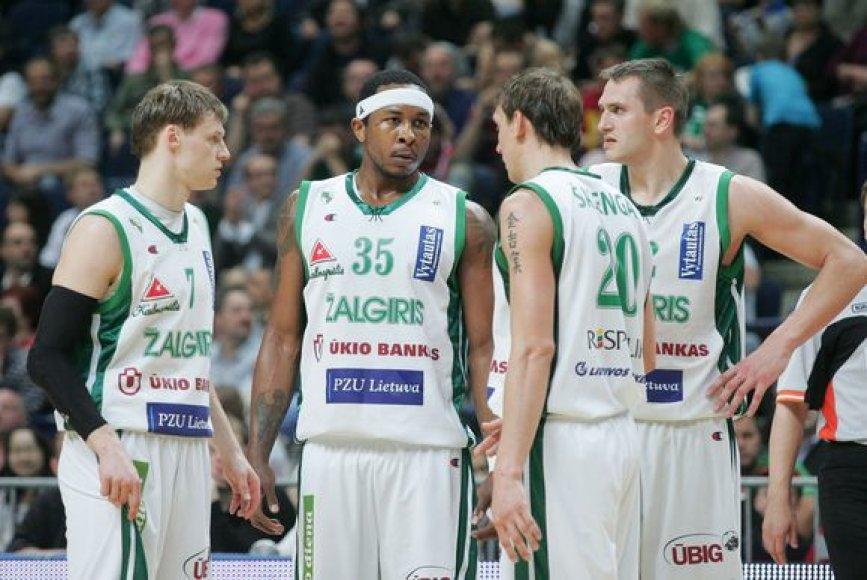"""""""Žalgirio"""" komandoje turėtų likti beveik visi praėjusiame sezone žaidę krepšininkai"""
