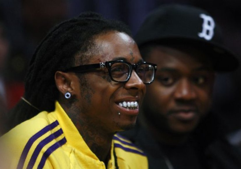 "Reperis Lilas Wayne'as NBA finale laukia ""Heat"" ir ""Lakers"" mūšio"