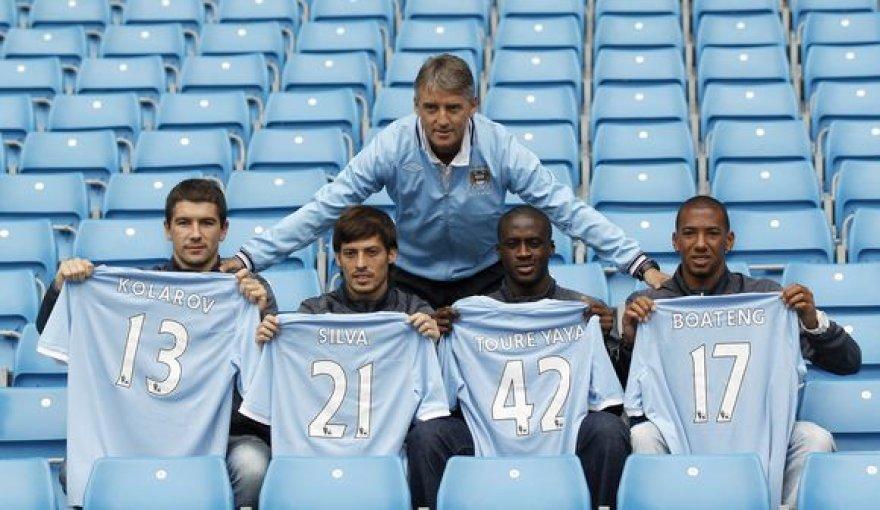 """""""Manchester City"""" šią vasarą negailėjo pinigų naujiems futbolininkams"""