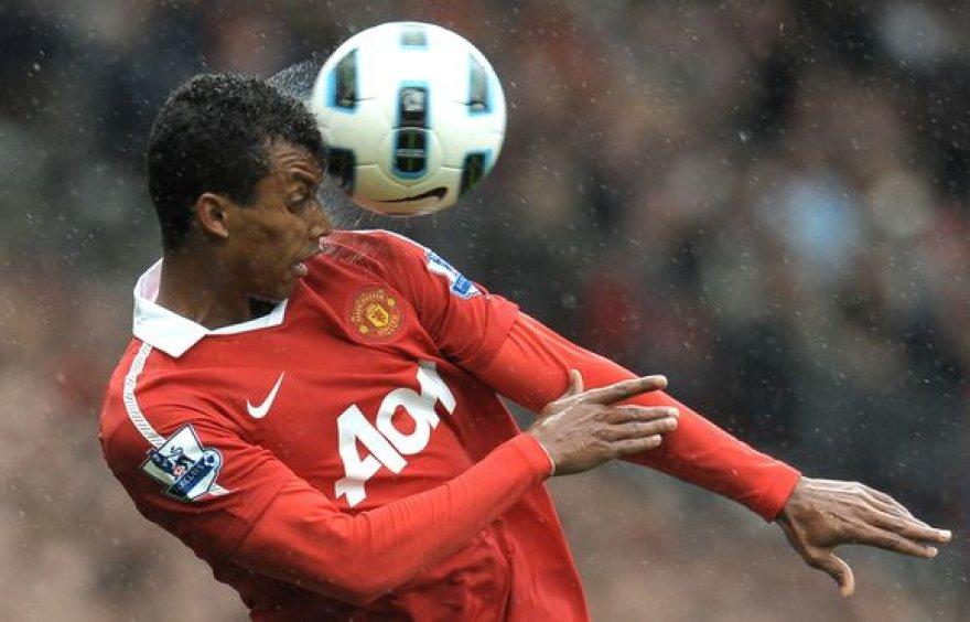 """Nani šį sezoną yra vienas svarbiausių """"Manchester United"""" futbolininkų"""