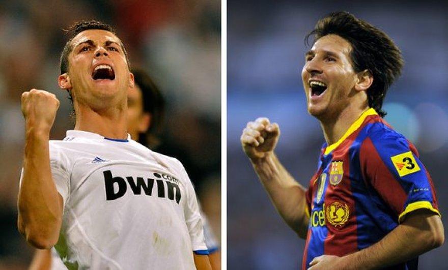 """Real"" lyderis Cristiano Ronaldo prieš ""Barcelonos"" atakų dirigentą Lionelį Messi"