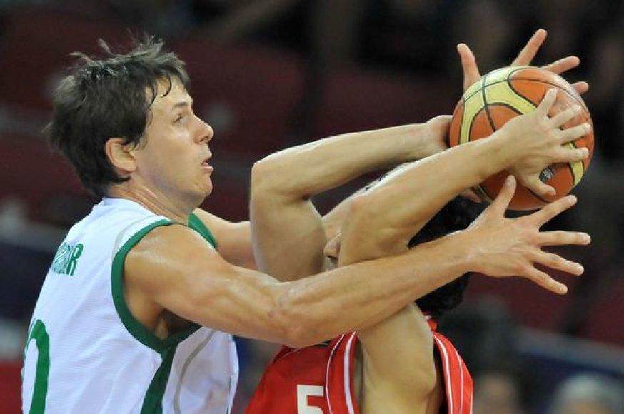 Slovėnai nugalėjo Irano krepšininkus