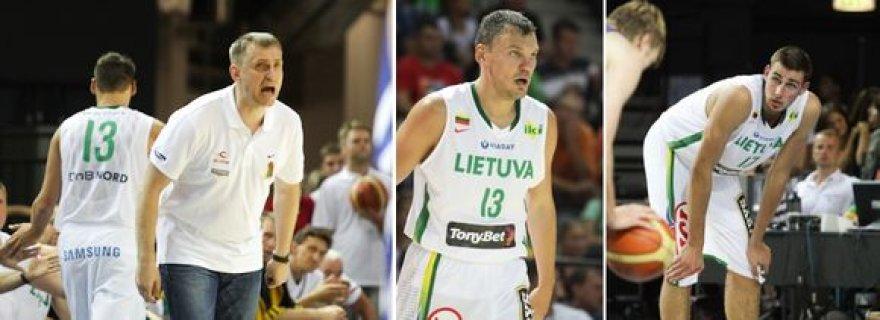 Lietuvos vyrų krepšinio rinktinė žais trečiąsias draugiškas rungtynes.