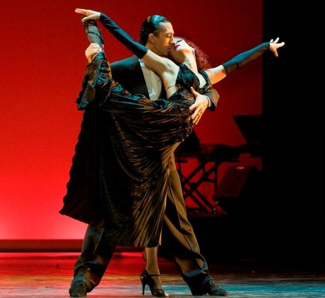 """""""Tango Pasion"""" šokėjai"""