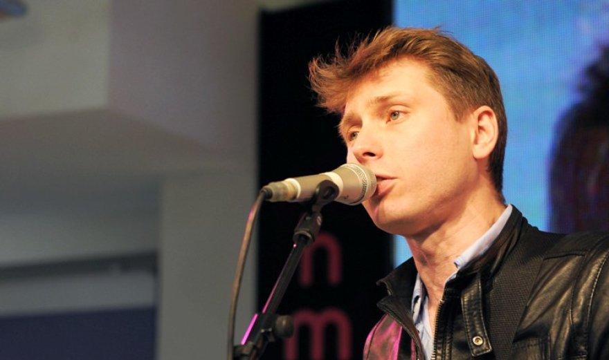 """Franz Ferdinand"" vokalistas Alexas Kapranosas"