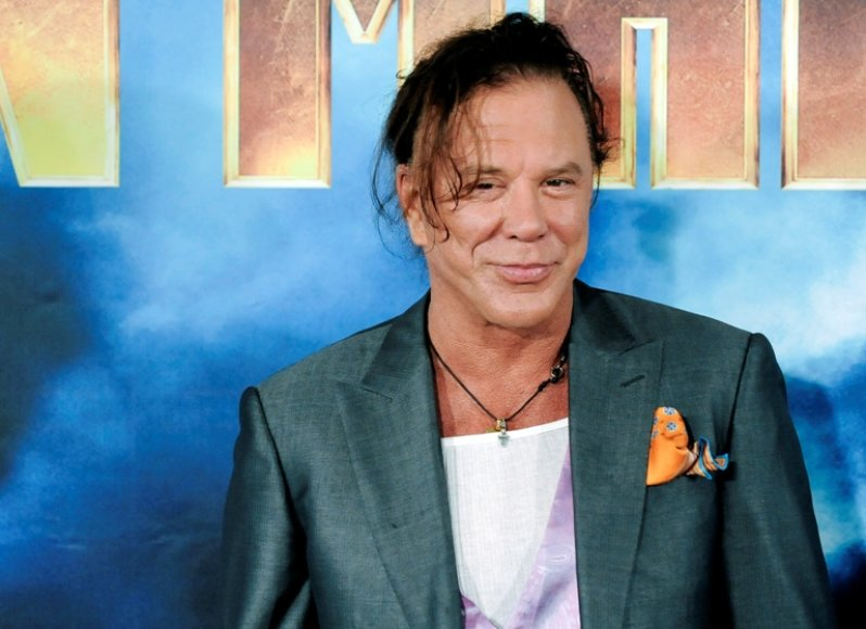 Mickey Rourke'as