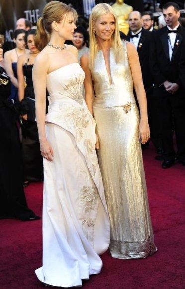 Gwyneth Paltrow ir Nicole Kidman