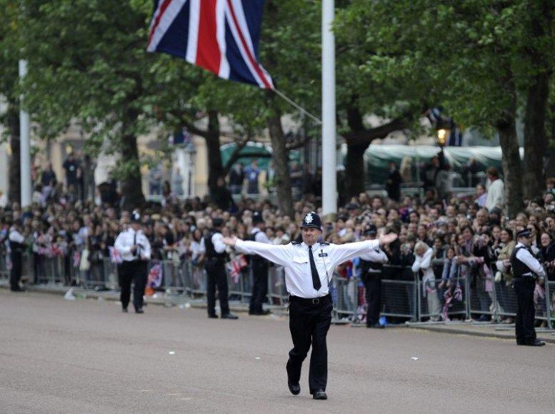Londono policijos pareigūnas