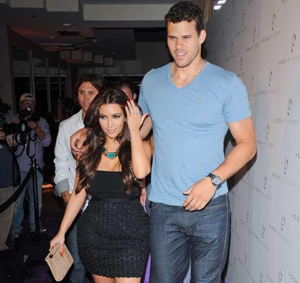 Kim Kardashian ir Krisas Humphriesas 2011-ųjų rugpjūtį