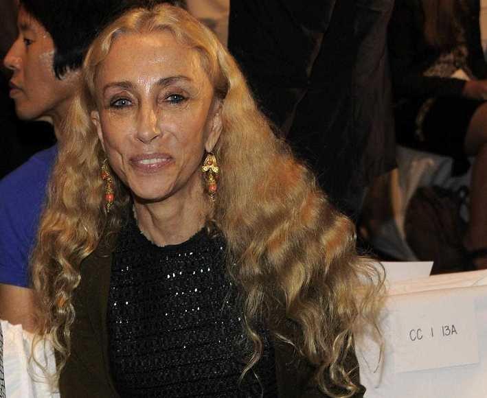 """Itališkojo """"Vogue"""" redaktorė Franca Sozzani"""
